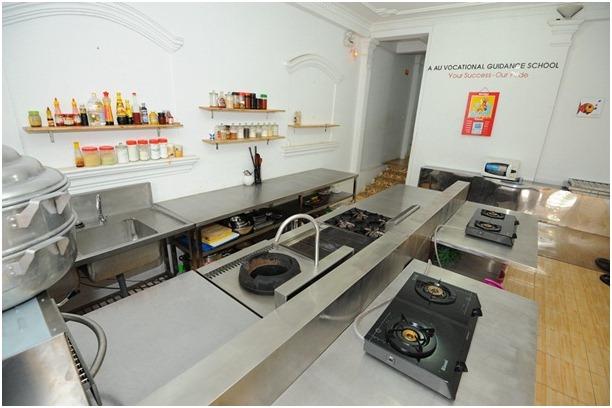 cơ sở dạy nấu ăn hiện đại